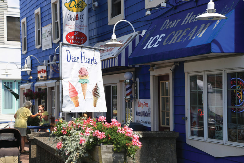 Pawtuxet Village boasts adorable shops and dining, plus a water view where the Pawtuxet River flows into the Bay