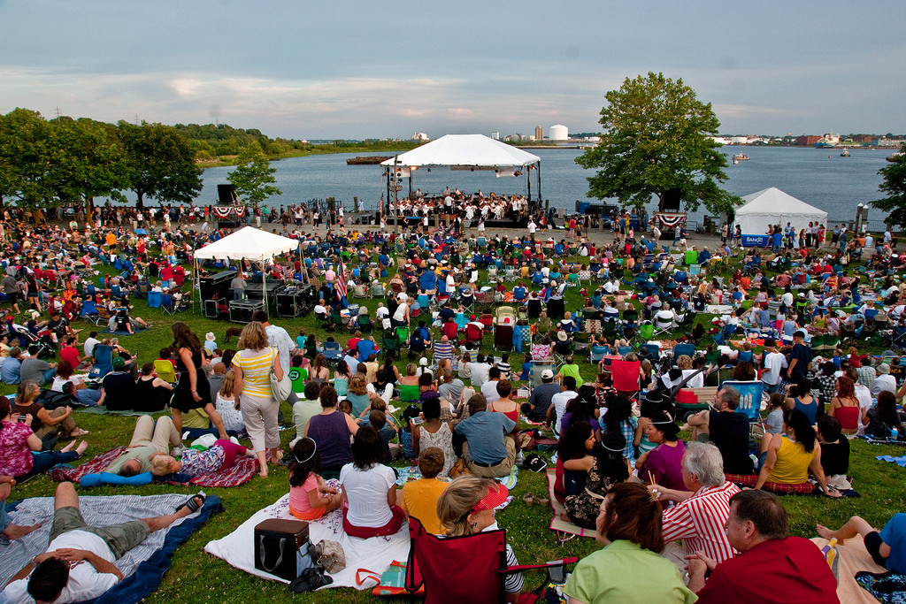 Celebrate The Fourth At India Point Park