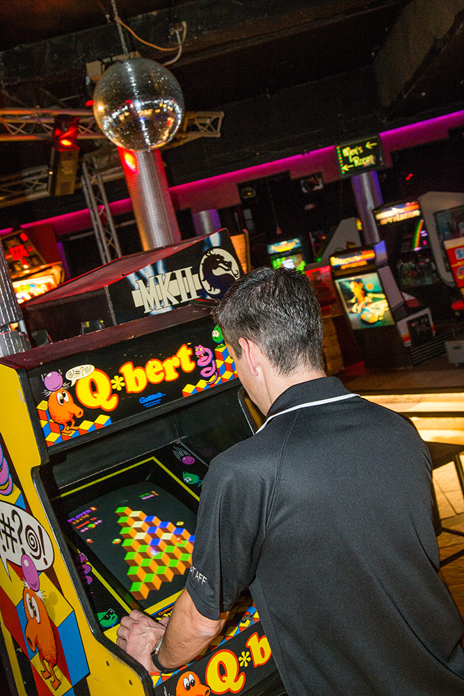 The Game Never Stops At Free Play Arcade Providence