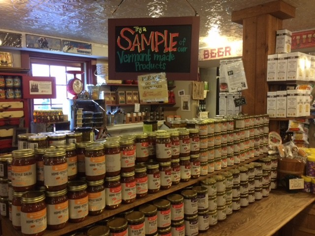 The gourmet edibles at Stowe Mercantile