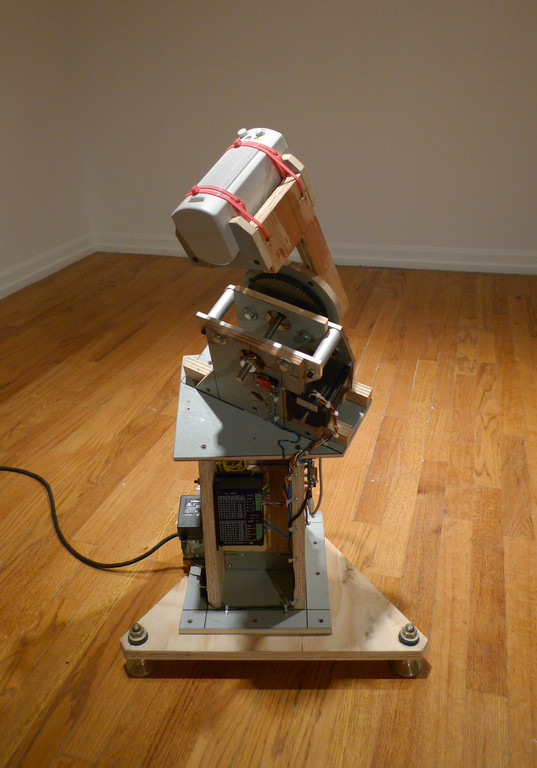 "Gregory Witt, ""Packing Tape"", 2010. Mixed media, sound"