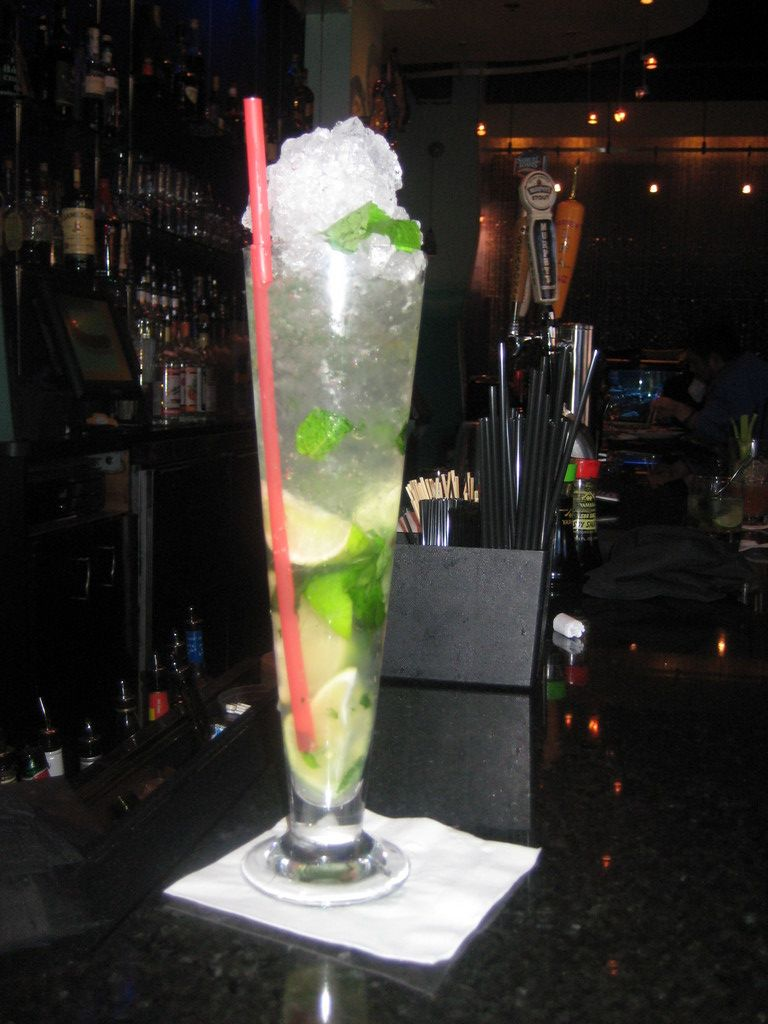 Stop 4: The signature mojito at Ten Prime Steak & Sushi
