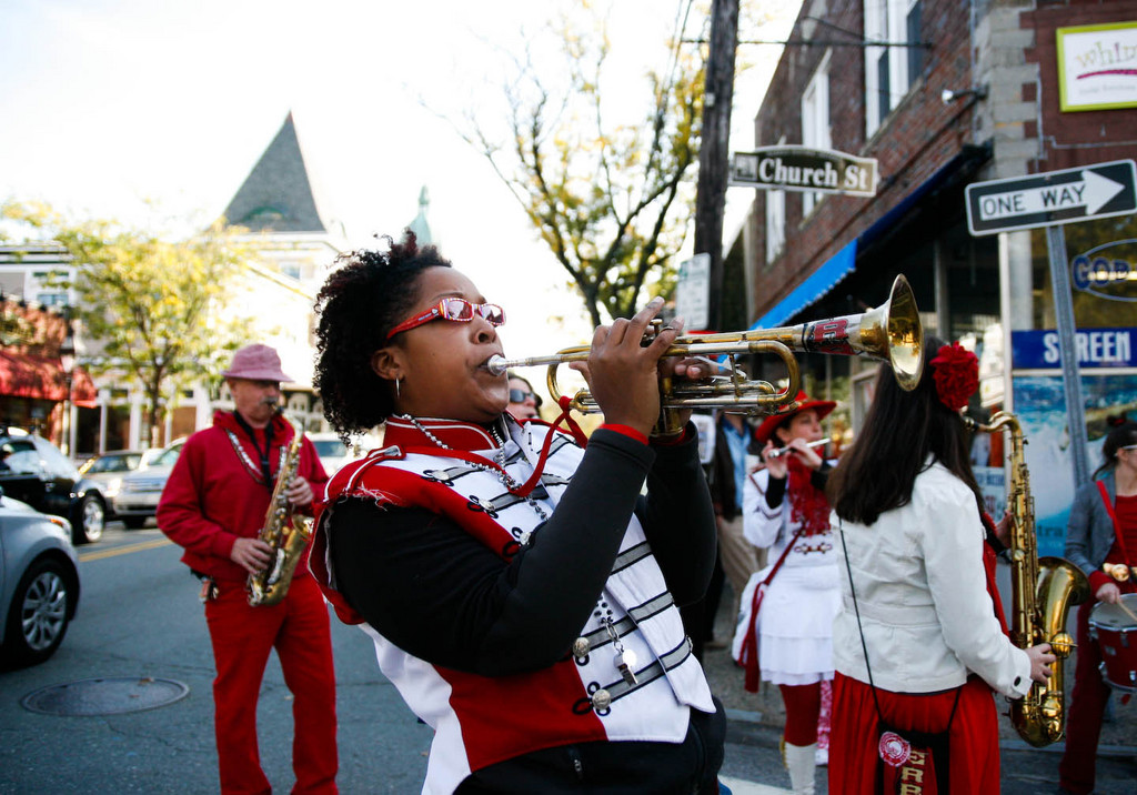 The Extraordinary Rendition Band plays at the Warren Walkabout in October