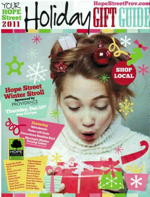 The Hope Street Holiday Gift Guide - get yours in the December issue of Providence Monthly