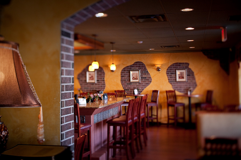 The dining room at La Cucina
