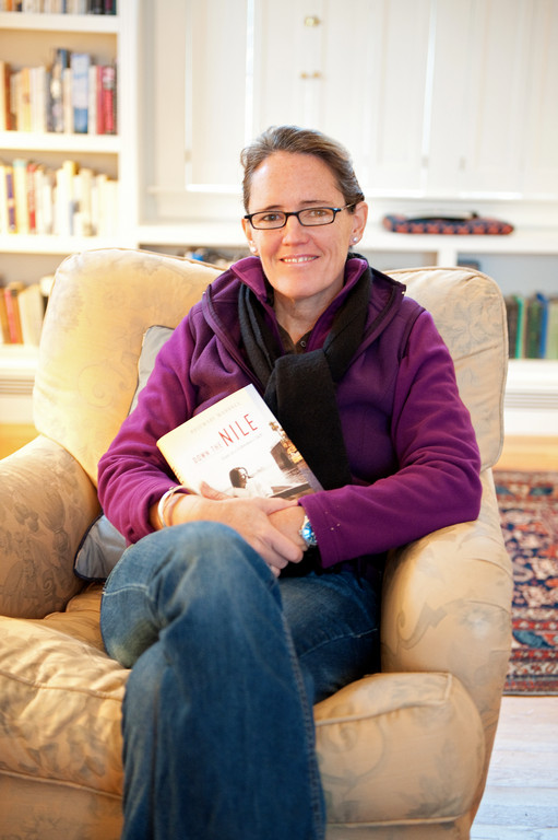 Author Rosemary Mahoney in her new Bristol home