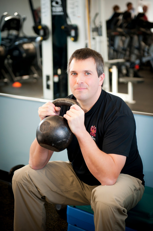 Will Fish is a certified Russian Kettlebell Challenge instructor at Jamestown Fitness