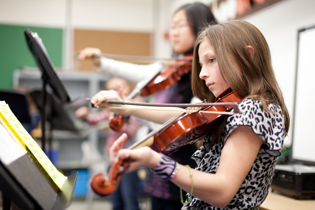 The Community String Project at Warren's Hugh Cole Elementary School