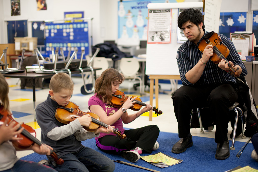The Community String Project at Bristol's Colt Andrews Elementary School