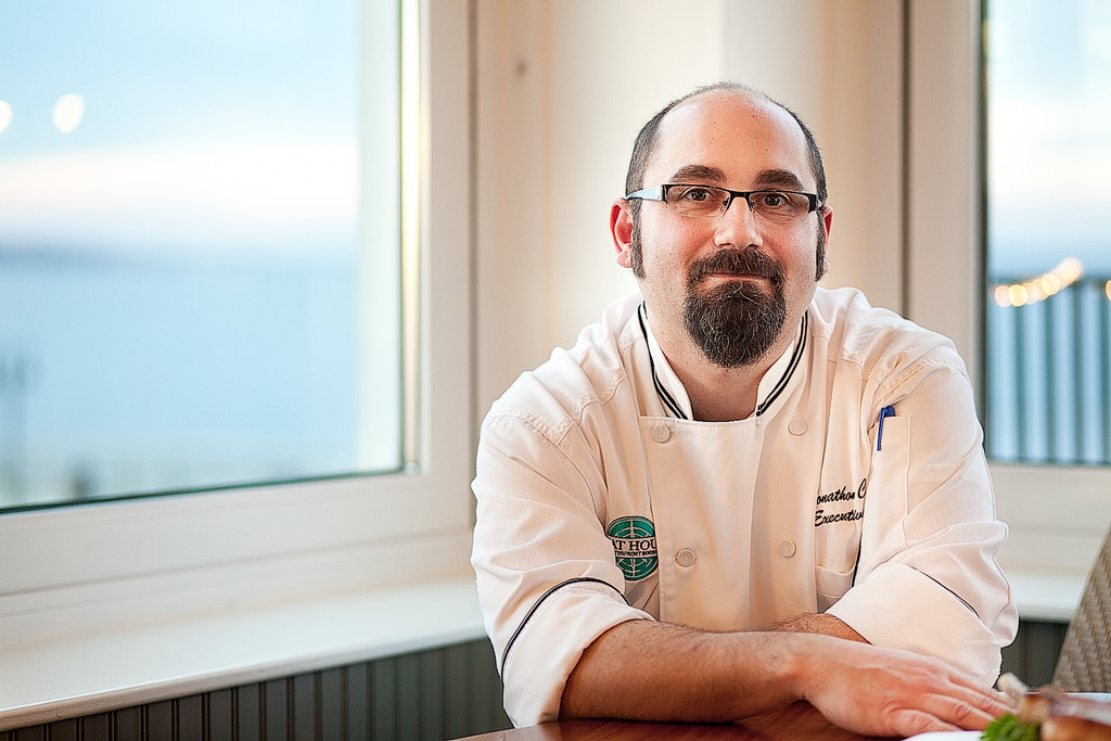 Executive Chef Jonathan Cambra of the Boat House in Tiverton