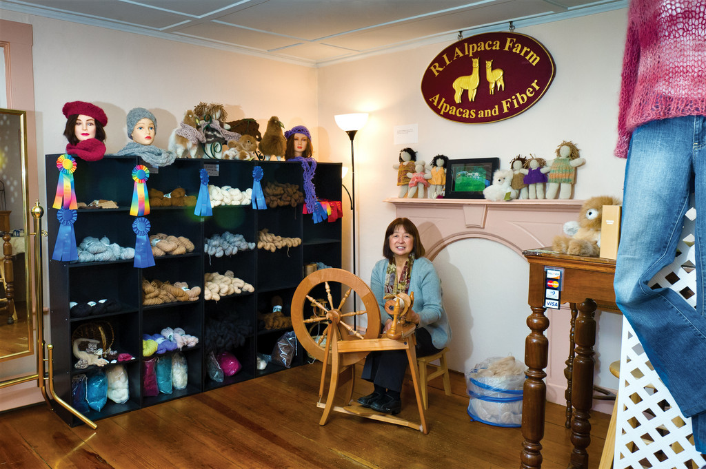 Rhode Island Alpaca Farm opened a new shop at 58 Main Street in East Greenwich