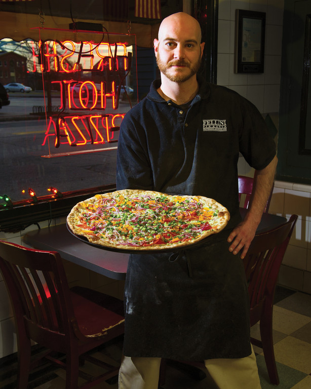 Chef Mike Scarano of Fellini Pizzeria