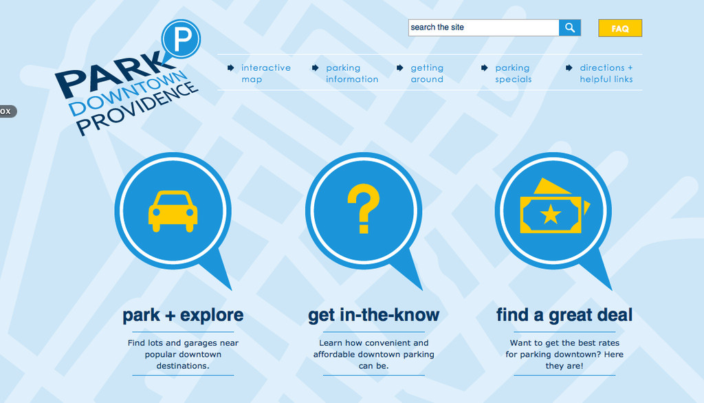 The new ParkDowntownProvidence.com website will help visitors navigate parking locations and rules.