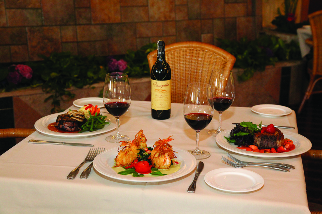 Want to escape winter? Head to Spain. Spain of Narragansett, that is, for delicious steak, seafood and veal. Think of Spain when you plan your next event, as they can accommodate 130 people and have a wine list that's sure to impress.