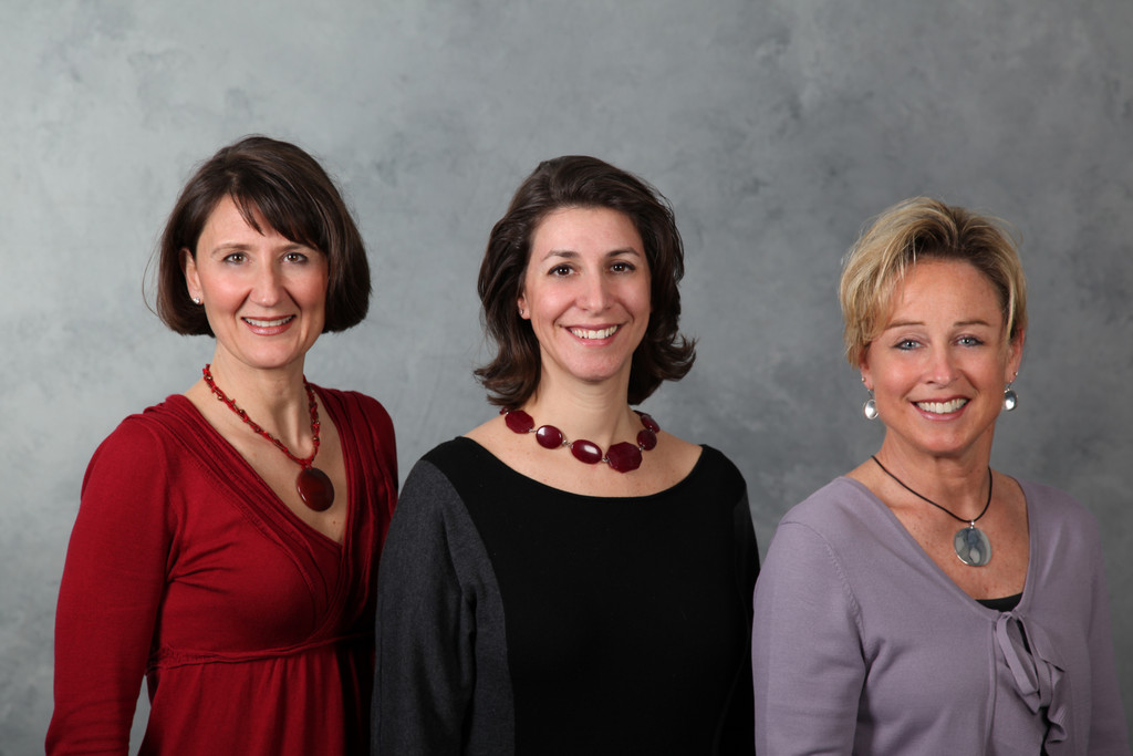 The Senior Care Concepts Inc team, left to right: Christina Philippi, RN, BSN, Jenny Miller, MSW, CMC, and Kimberly Olson, LICSW