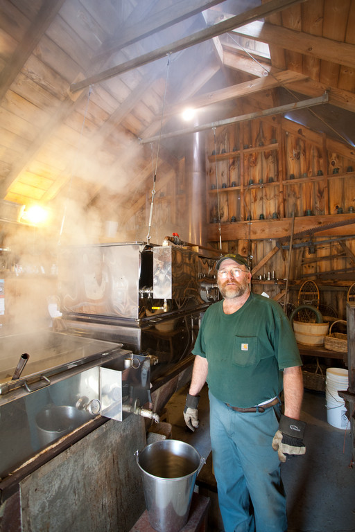 Production time at Spring Hill Sugar House