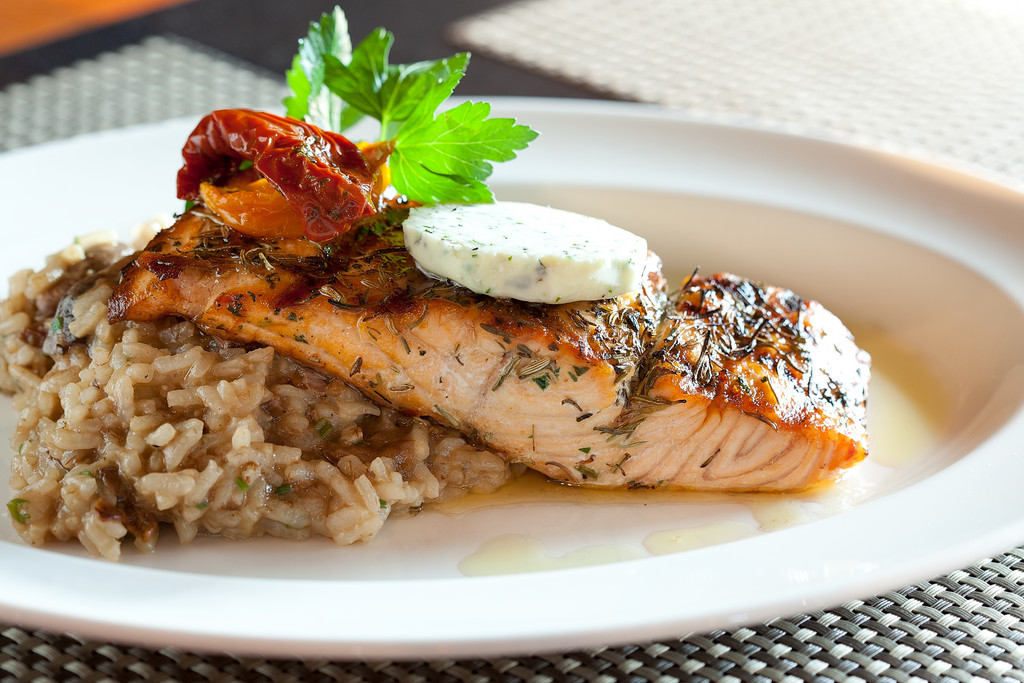 Herbs de Provence Salmon FIlet at The ROI