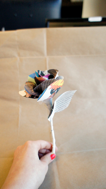Paper Flower by Ashley MacLure