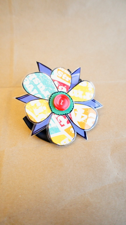 Flower Hair Clip by Meghan Follett