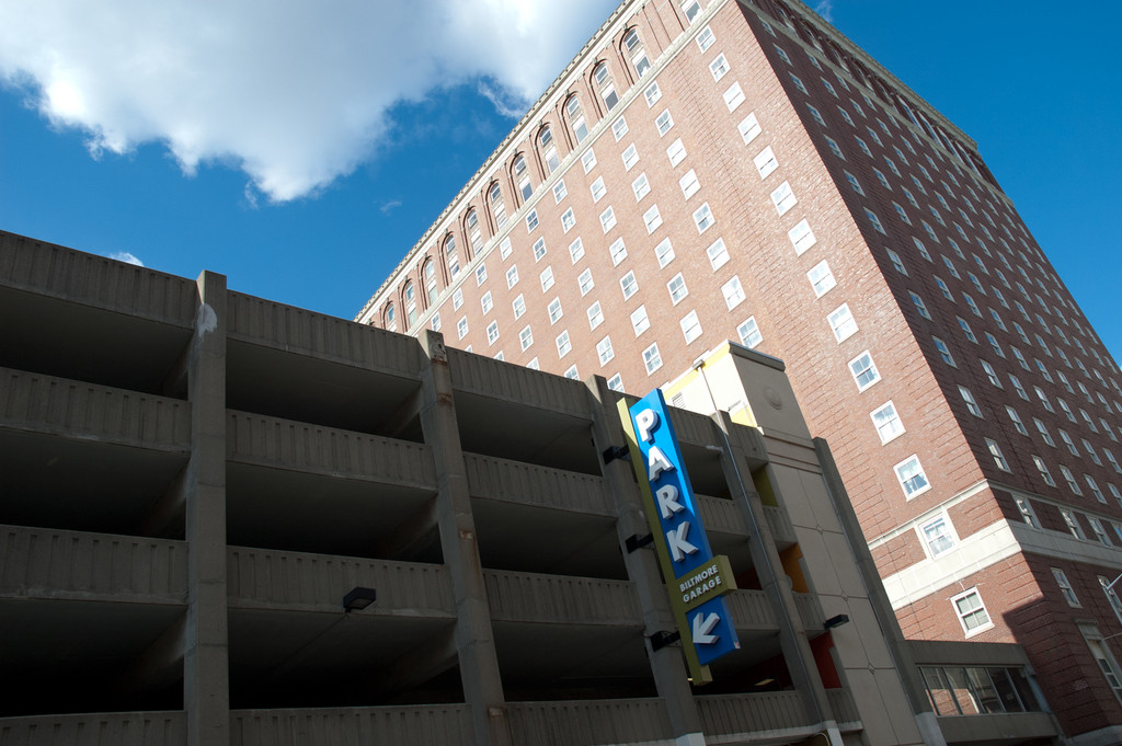 Both the Biltmore Hotel and the adjacent parking garage have new owners. The former is being brought out of receivership and renovated by a Boston investor, while the latter was purchased by Downtown developer Cornish Associates.