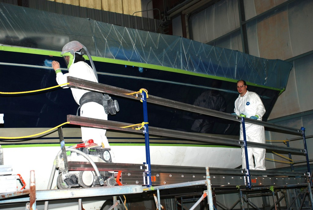 New England Boatworks builds advanced composite sailboats and power yachts