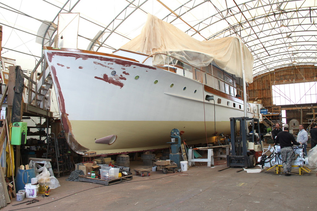 McMillen Yachts in Portsmouth specializes in wooden boats
