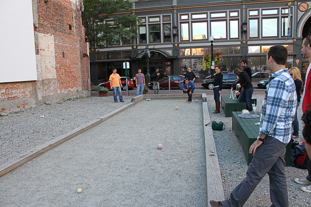 The Providence Downcity Bocce League returns to Grant's Block for its 2012 season