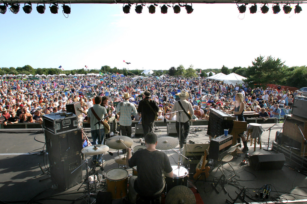 The Rhythm and Roots Festival is at Charlestown's Ninigret Park every Labor Day weekend