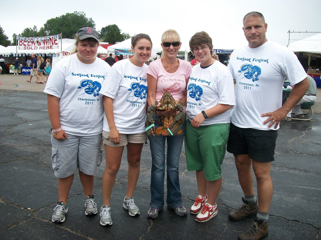 The Charlestown Seafood Festival is at Ningret Park August 3-5, 2012