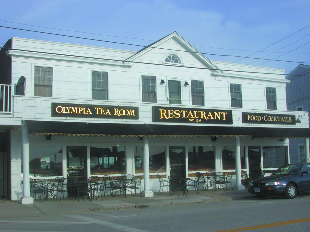 The Olympia Tea Room Watch Hill