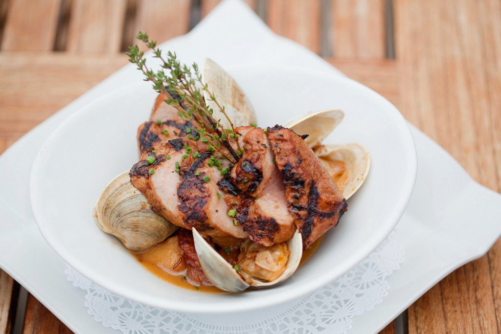 Pork & Littleneck clams