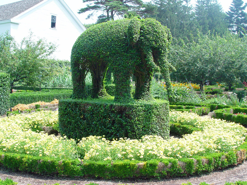 Green Animals Topiary Garden in Portsmouth
