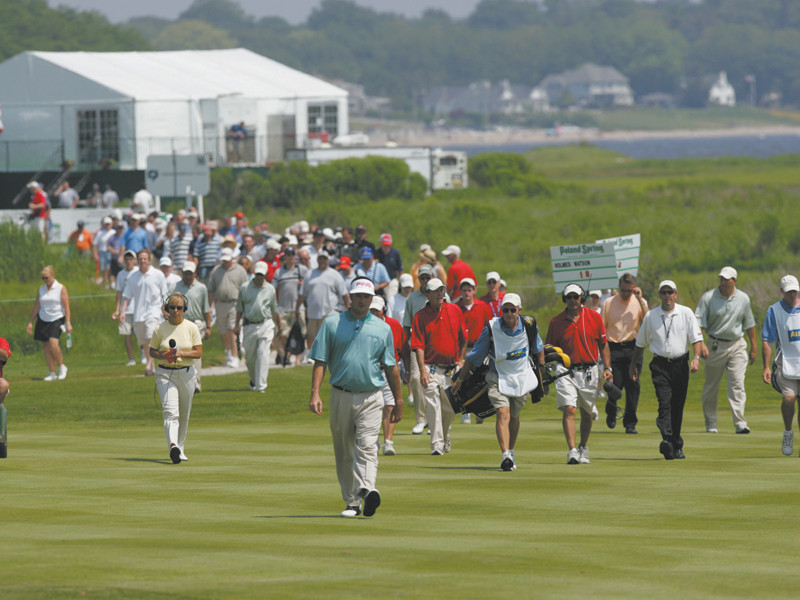 The pros tee off at the CVS Caremark Charity Classic, June 17-19