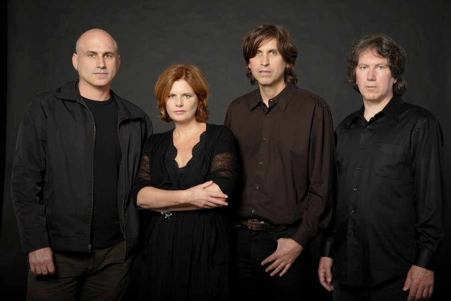 Michael Timmins (second from right) with the rest of the Cowboy Junkies