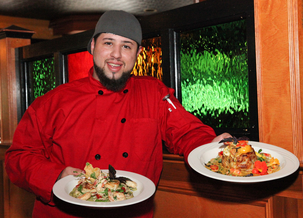 Chef Geoffrey Travers of PJ's Pub