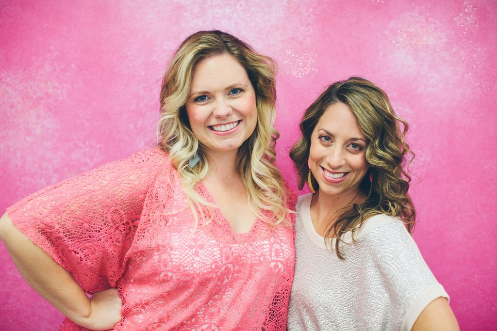 Jaclyn Altieri Murphy (right) and partner Kristen Marrah own LuniacGlamour in East Greenwich