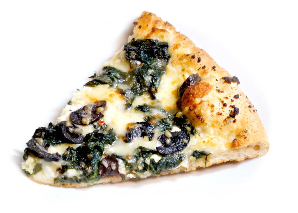 PJ's PubOur game-day item from PJ's was the magnificent Greek pizza. This was pie was a salty confection topped with wilted baby spinach, Kalamata olives and fresh cheeses. It was definitely a hit with the staffers, and was quickly devoured as soon it passed our lips. Better order extra for your friends: you might need a whole one for yourself. 135 Boon St., Narragansett. 789-3200