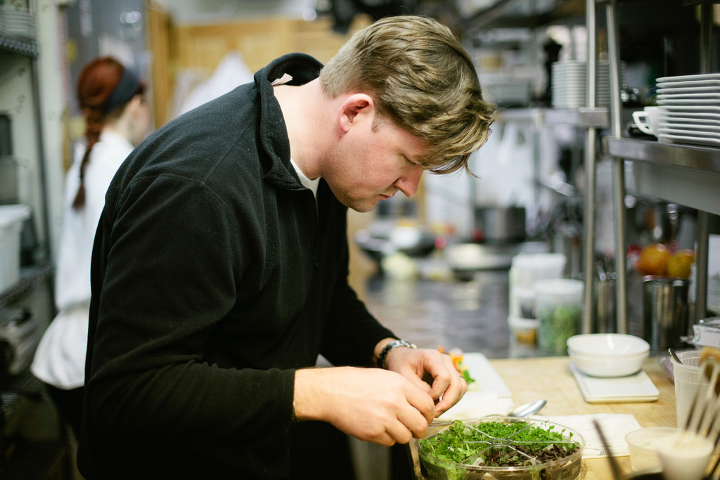 Persimmon chef/owner Champe Speidel
