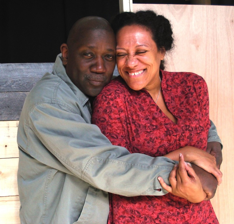 Richardo Pitts-Wiley and MJ Daly star in Mixed Magic Theatre's production of Fences