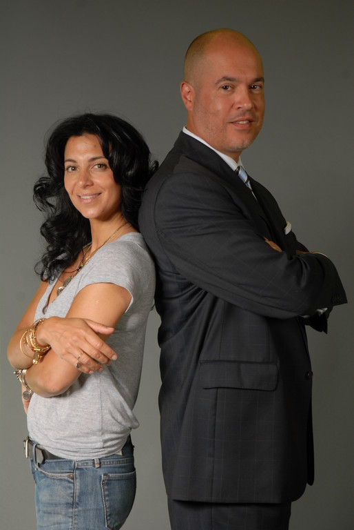 Alex and Ani owner/designer Carolyn Rafaelian and CEO Giovanni Feroce