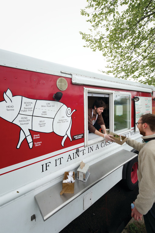 The Hewtin's Hot Dog Truck will be part of the East Drink RI Festival's Food Truck Stop to benefit the R.I. Community Food Bank event