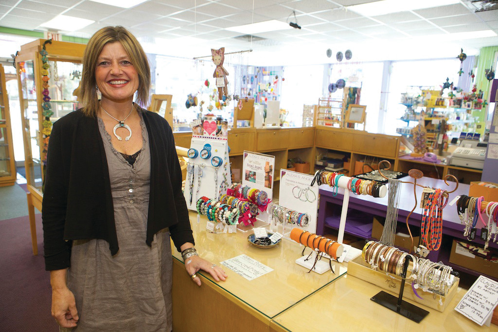Melinda Witham runs The Purple Cow Co. in Wakefield