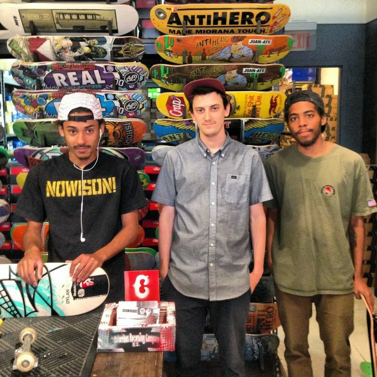 The crew over at Civil Skate