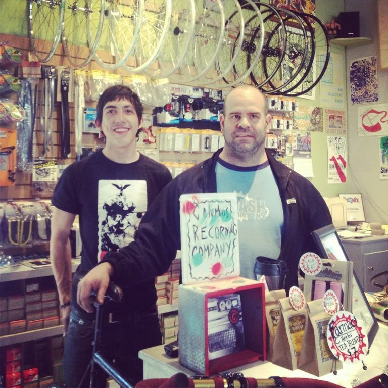 Tom and James from Dash Bicycles