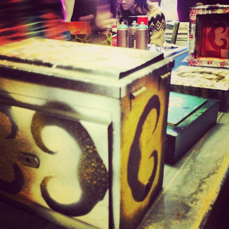 Handmade CRC boxes