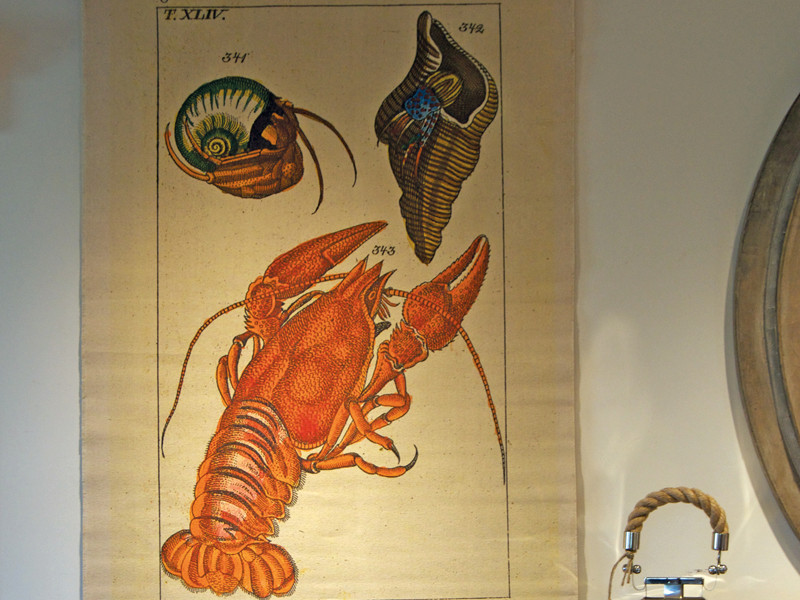 Any room can have a nautical feel, especially with this Canvas Vintage Wall Chart by Design Legacy $185
