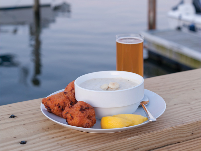 Best clam cakes rhode island
