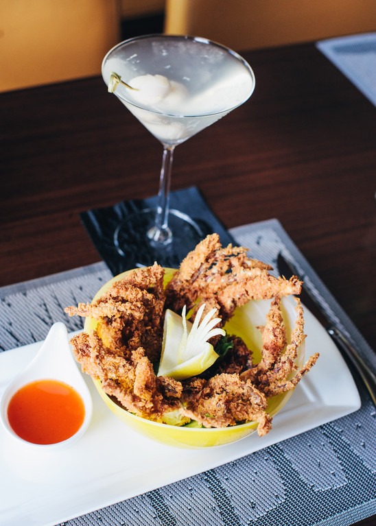 Soft-shell Crab Appetizer