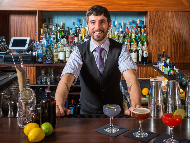 Jay Carr honed his mixology skills in New York and behind some of PVD's best bars before opening The Eddy