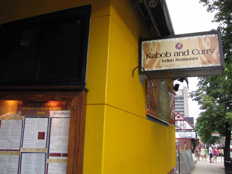 Indian Food On Thayer Street